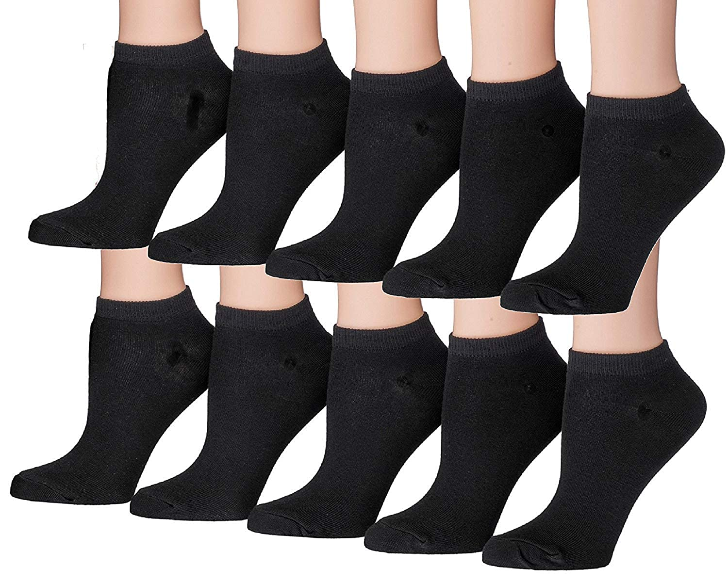 Tipi Toe Boys Classy Lightweight Low Cut No Show Socks 10 or 20 pairs
