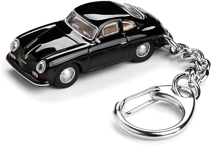 Corpus Delicti Schlüsselanhänger Mit Porsche 356 A Carrera Schwarz Modellauto Für Alle Auto Und Oldtimerfans 20 9 2 Küche Haushalt