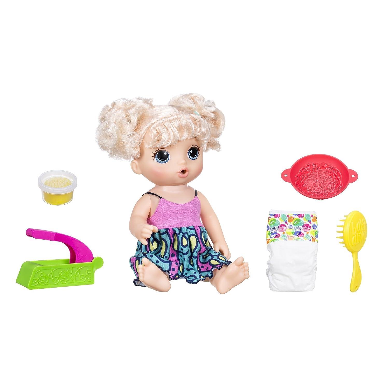 Unbekannt Baby Alive Super Snacks Snackin 'Nudeln Baby (blond) Hasbro C0963