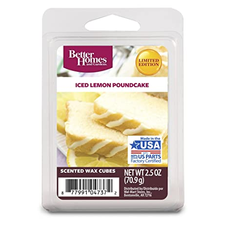 excellent better homes and gardens scented wax cubes. Better Homes and Gardens Iced Lemon Poundcake Wax Cubes Amazon com