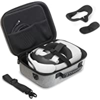 JSVER Hard Travel Case for Oculus Quest 2 VR Gaming Headset and Controllers Accessories Compact Carrying Case Oculus…