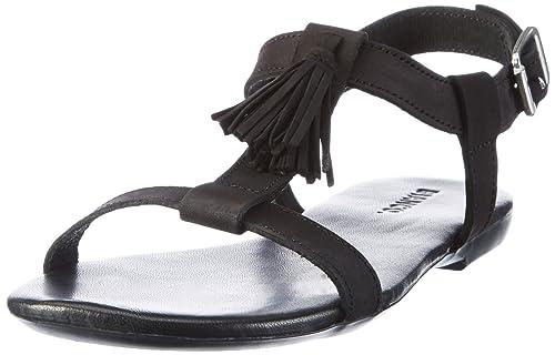 BIANCO TBar 2149247 Sandali Donna Nero Black 36 EU Scarpe