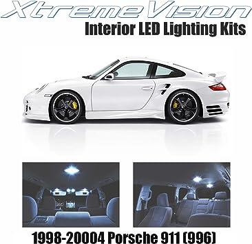 LED White Lights Interior Package Kit For Porsche 911 996 1997-2004 10 pcs