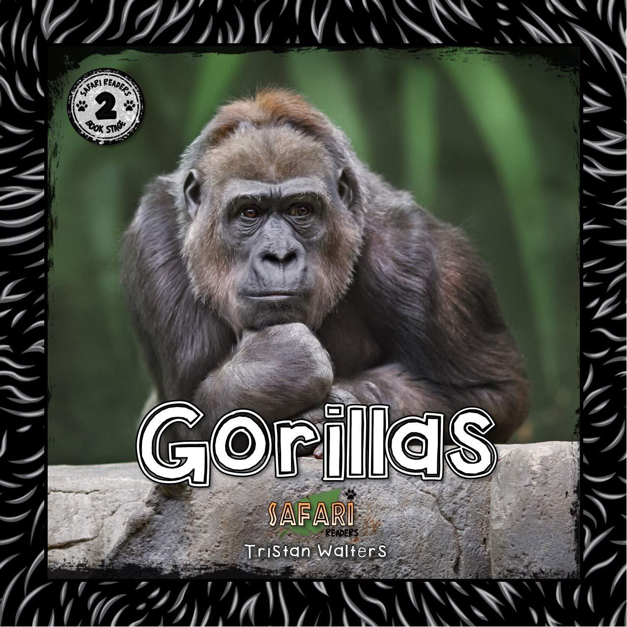 Gorillas: (Safari Readers - Wildlife Books for Children: Stage 2) (English Edition)