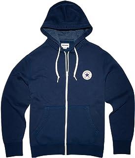 55ba0b0c786e Men s CONVERSE 1 2 Zip Hoodie (Small)  Amazon.co.uk  Clothing