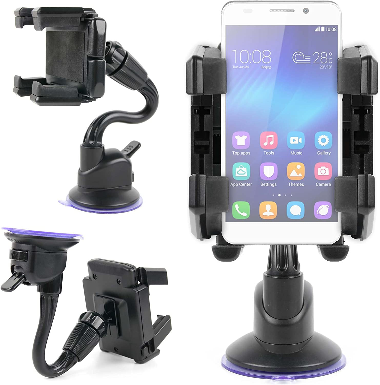 DURAGADGET Soporte De Coche para Smartphone OPPO A77 / Huawei ...