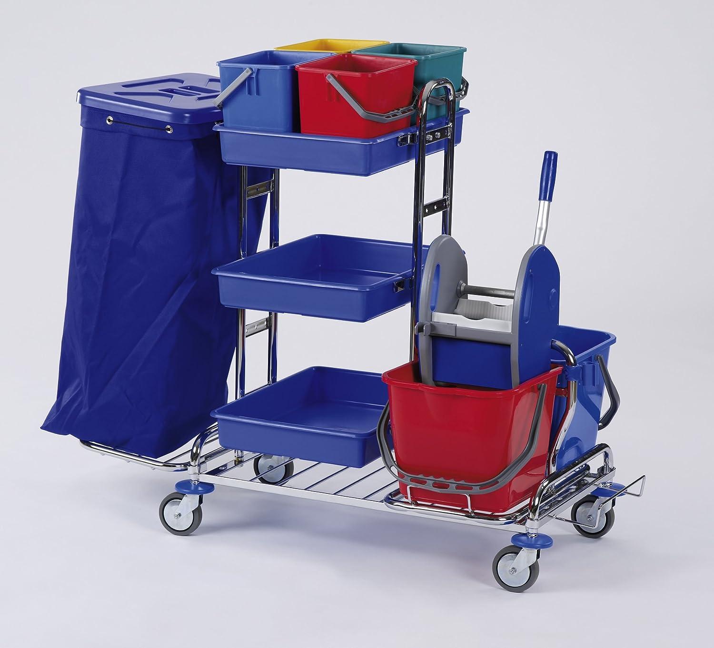 Floor Star RW 1Quattro Lavado carro carrito de limpieza (Cromado 1x 120L)