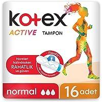 Kotex Active Tampon Normal 16li 1 Paket (1 x 58 g)