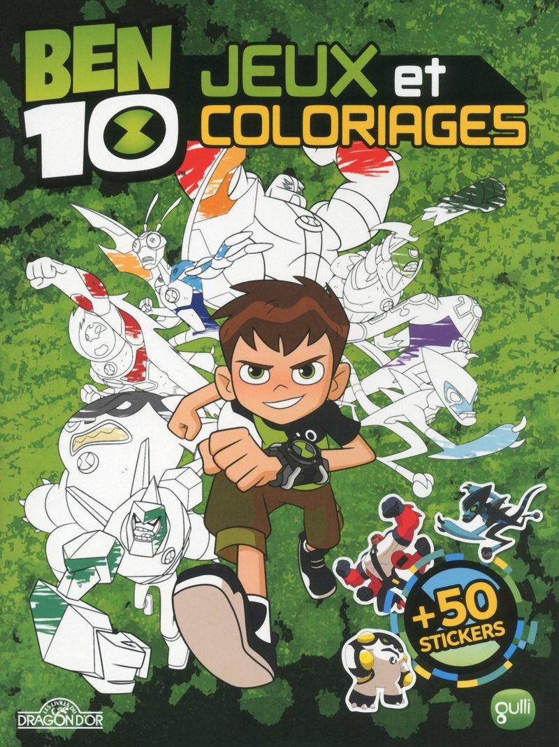 Coloriage Ben 10 Gulli.Ben 10 Jeux Et Coloriages Amazon Fr Cartoon Network Livres