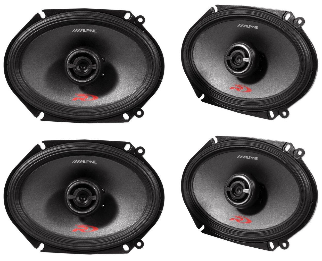 Alpine Spr 68 6x8 Car Speakers