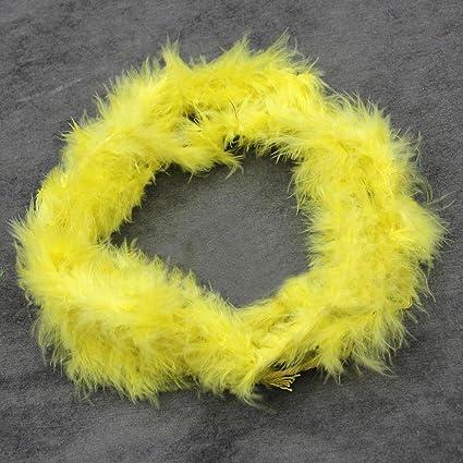 2M Feather Boa Strip Fluffy Craft Costume Dressup Wedding Birth Party DIY Decor