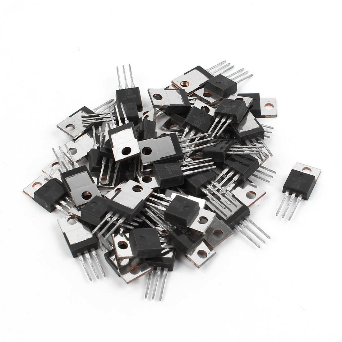 Power MOSFET - TOOGOO(R) 50 Pcs IRF740 TO-220 N-Channel Power MOSFET 400V 10A SPHAGT58539