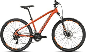 Orbea MX26 Dirt - Bicicleta de montaña juvenil, Naranja y negro ...