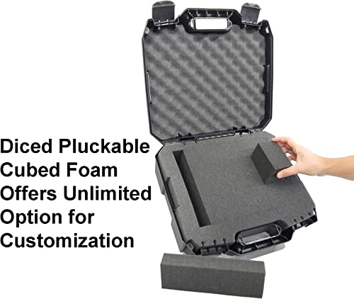 DRILL CASE – RUGGED Case fits BLACK DECKER Cordless Drills Drivers , Batteries , Chargers and Bits – Fits LDX120 20-Volt LD120VA BDCD120VA SS-12 BDCDMT120 BDCDD220C and more