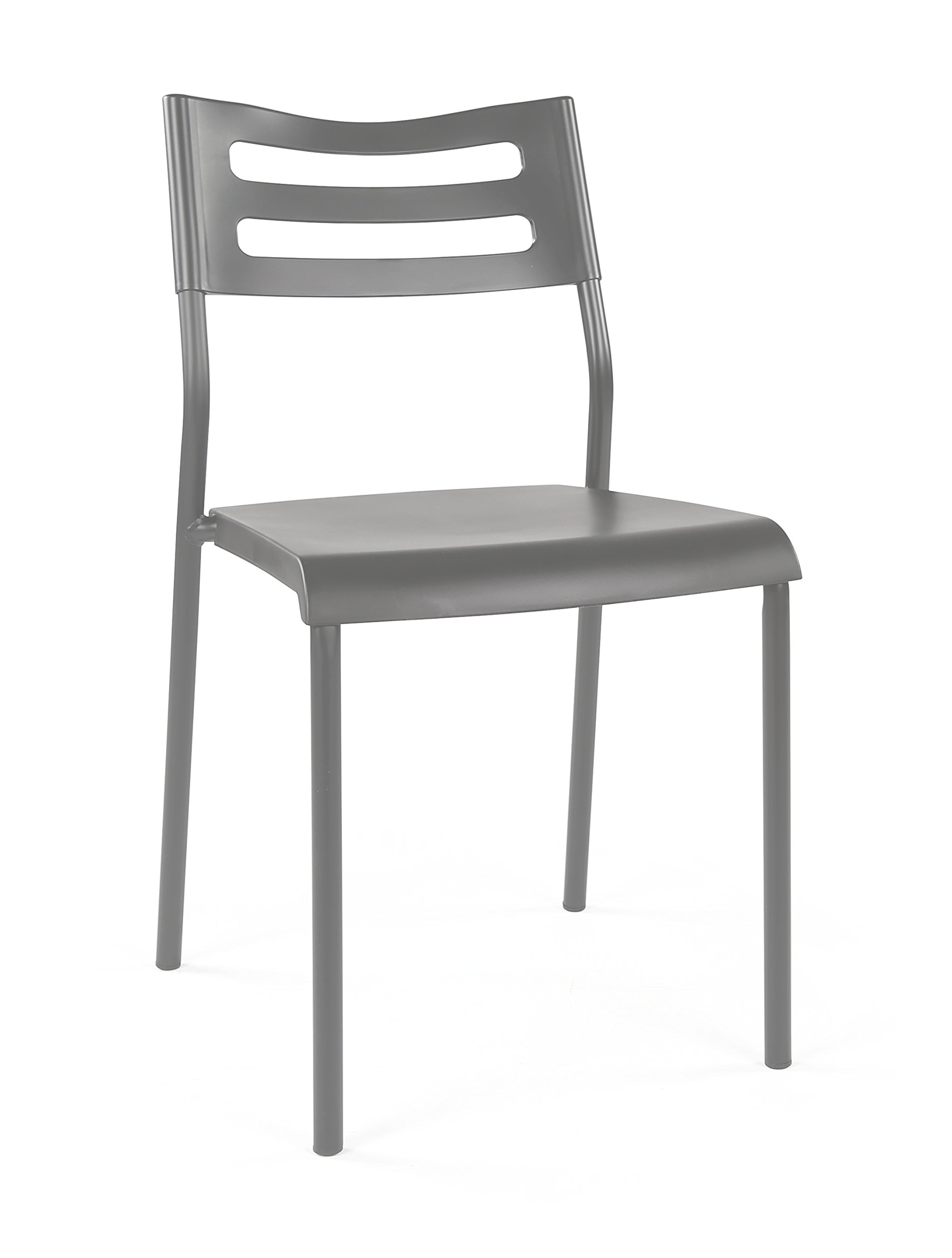 Humble Crew LT961 Chair for Desks and Kitchen Dining Tables, Grey