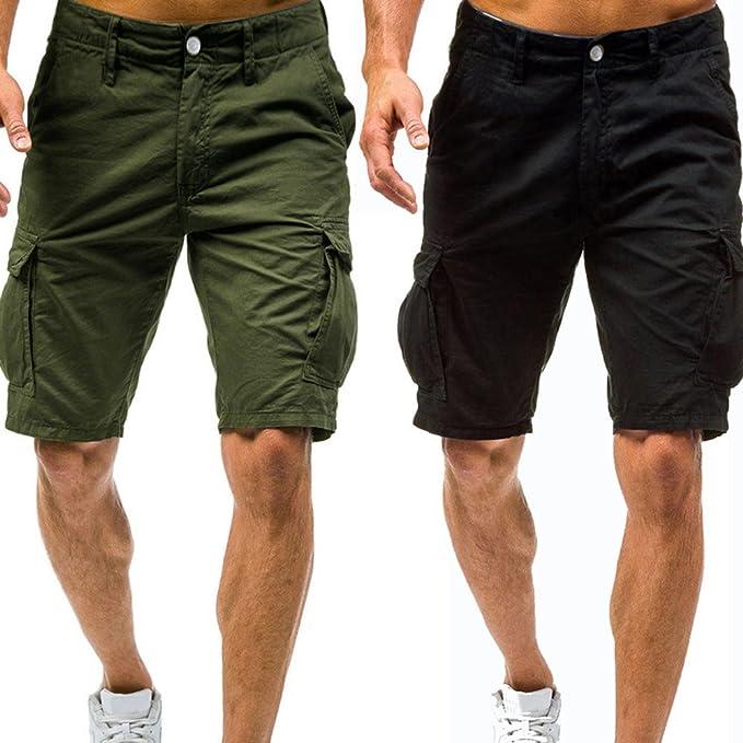 vendita calda online 49d1e f2663 Pantaloni Cargo Estivi da Uomo Bermuda Cargo Uomo Shorts ...