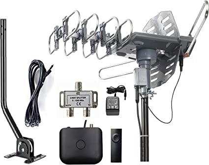 Free Shipping McDuory Amplified Digital Outdoor HDTV Antenna 150 Miles Long R..