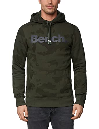 new concept famous brand top design Bench Homme Hauts / Sweat capuche Camo Hoody: Amazon.fr ...