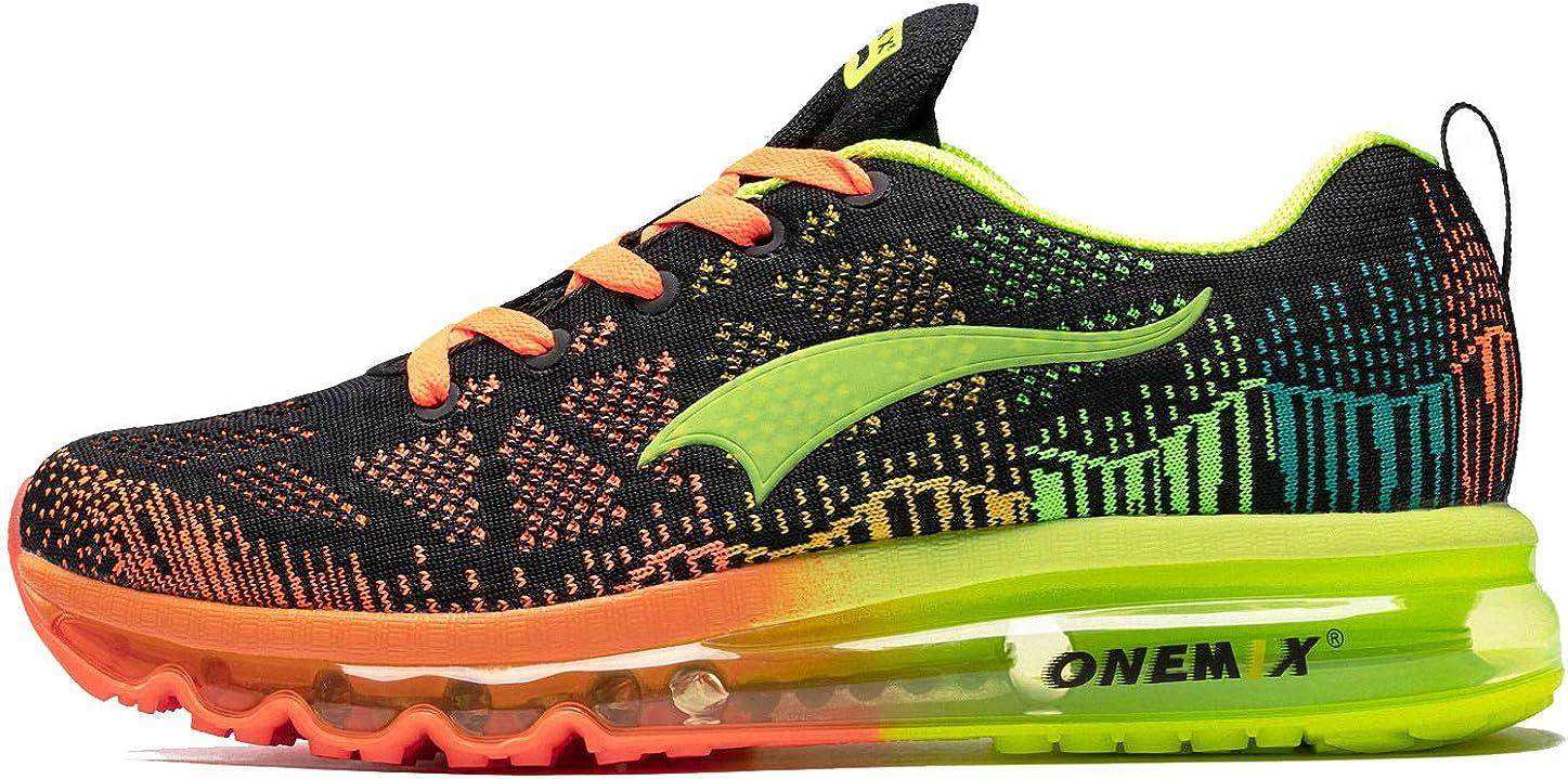 Onemix - Zapatillas de trail running para hombre con cojín de aire 3D para atletismo, deportivas, para correr, gimnasio: Amazon.es: Zapatos y complementos