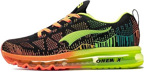 ONEMIX Schuhe Herren Air Luftkissen Laufschuhe Sportschuhe Trainers Männer Gym Sport Athletisch Running Sneaker