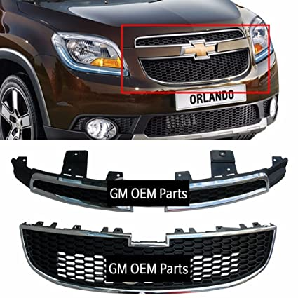 Amazon Front Radiator Upperlow Grille 2pcs For Gm Chevrolet