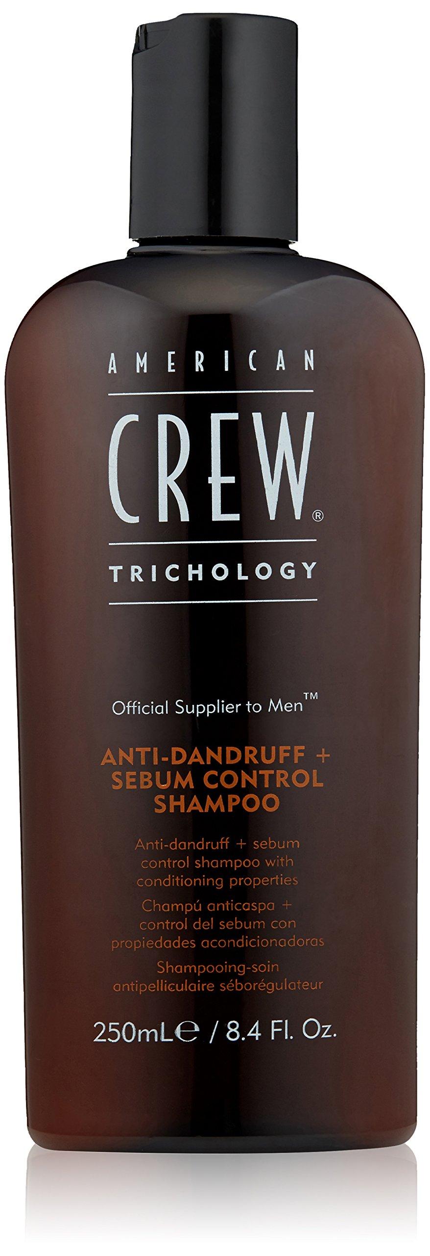 American Crew Anti-Dandruff Plus Sebum Control Shampoo, 8.4 Ounce