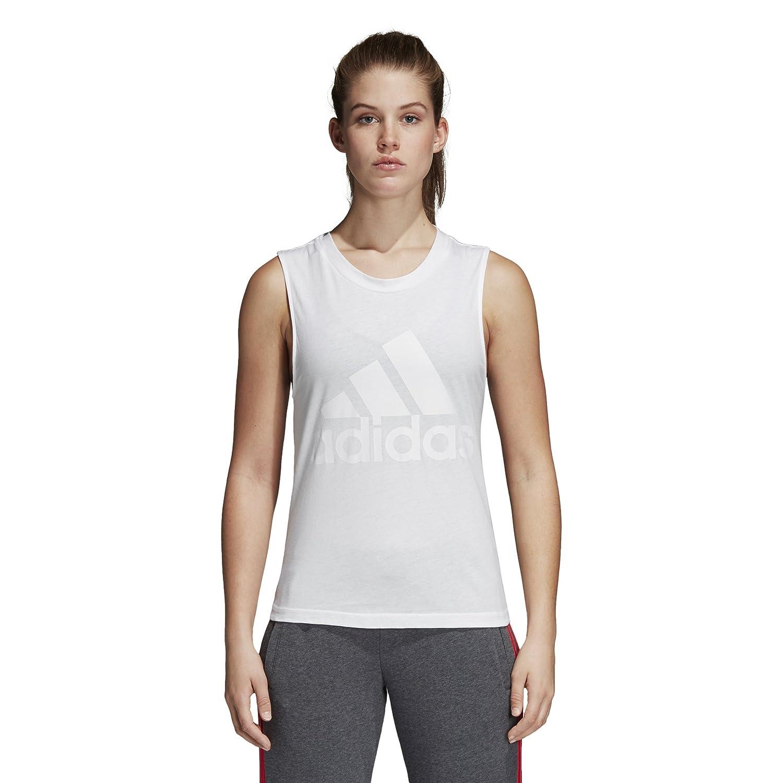 Adidas ESS Soli SL tee Camiseta, Mujer, Blanco, 2XL: Amazon.es: Deportes y aire libre