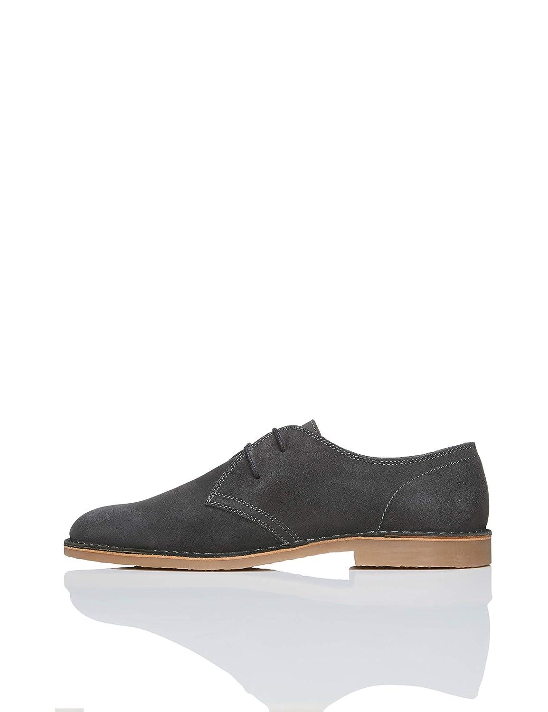 TALLA 42 EU. Marca Amazon - find. Zapatos de Serraje con Cordones Hombre