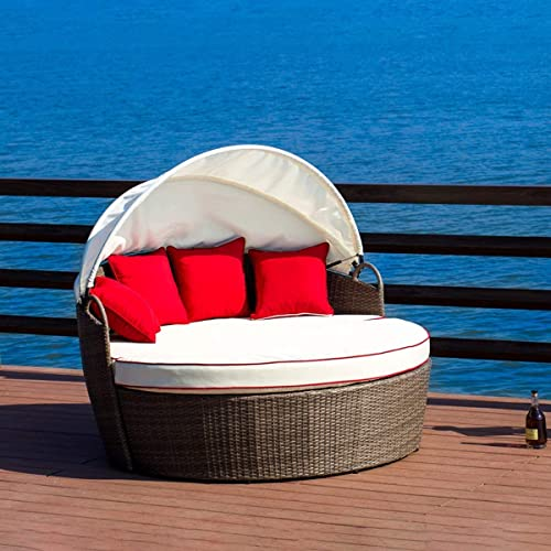 LOKATSE HOME Patio Round Daybed