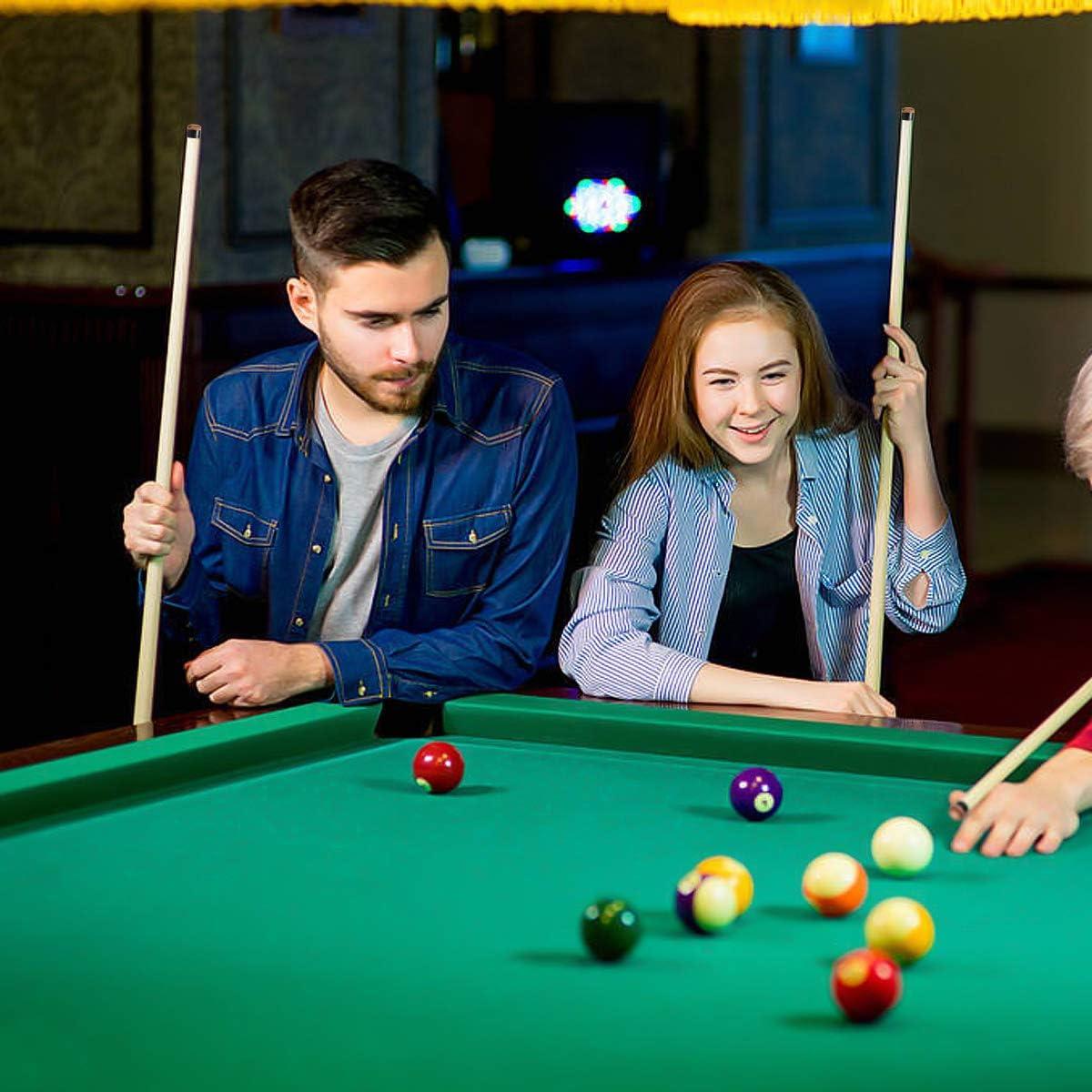 20 Piezas 10mm Puntas de Billar Duro Puntas de Repuesto de Rosca de latón con Punteras de Billar Pool Punteras de Billar de Snooker: Amazon.es: Deportes y aire libre