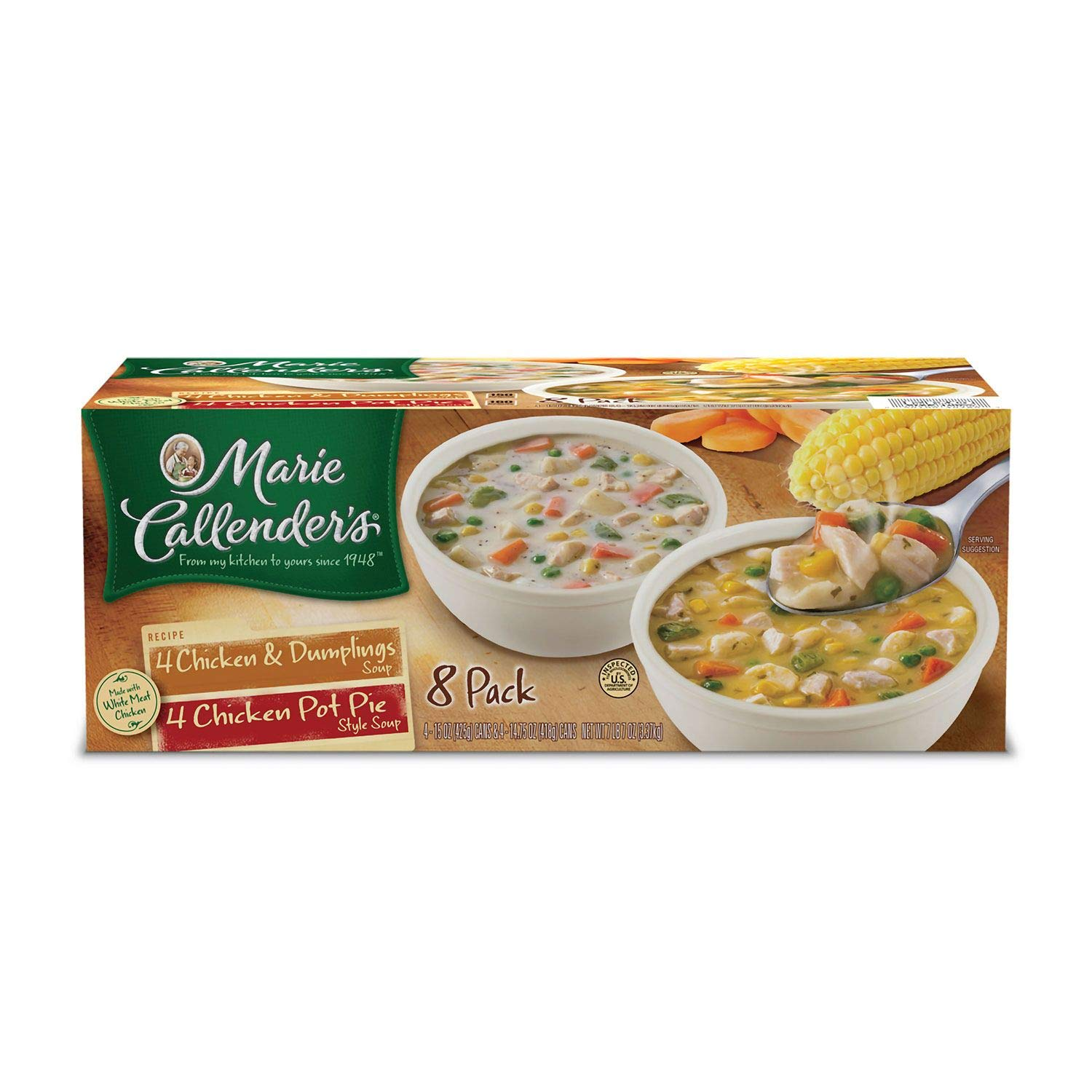Marie Callender?Chicken Variety Soup, 8 Pack by Marie Callender's