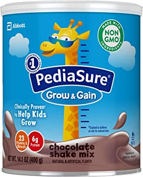 3-Count PediaSure Grow & Gain Non-GMO Shake Mix Powder Nutritional Shake