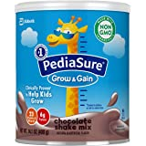 PediaSure Grow and Gain Non-GMO and Gluten-Free Shake Mix Powder, Nutritional Shake For Kids, With Protein, Probiotics, DHA,