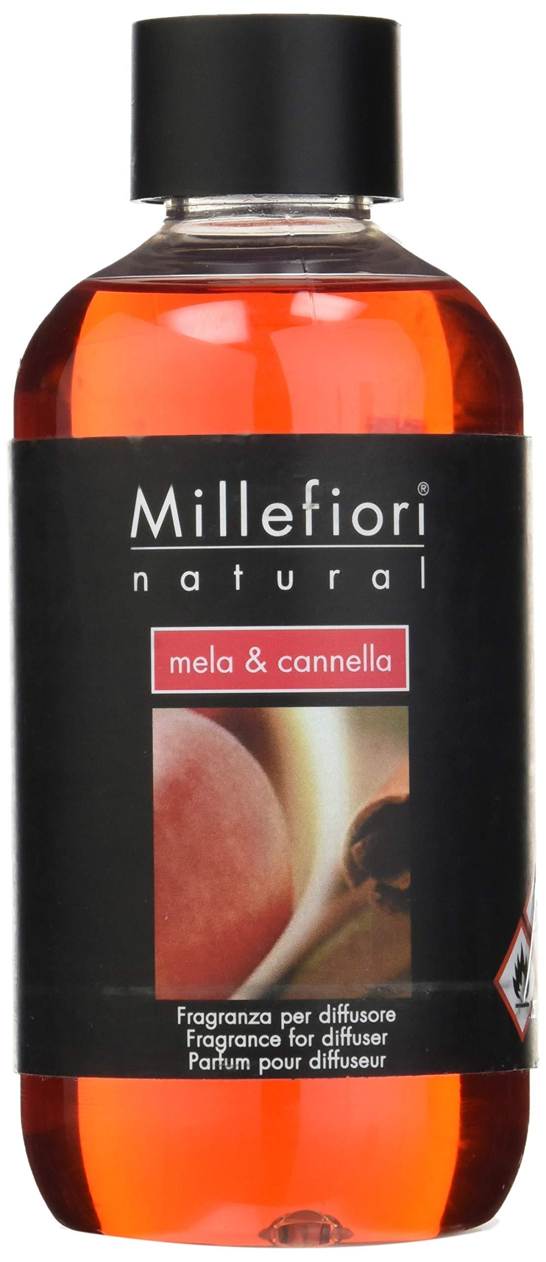 Mela Cannella (Cinn Apple) Millefiori Milano Reed or Ceramic Diffuser Oil Refill by Millefiori