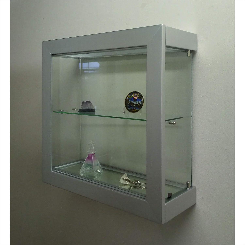 Vetrinetta da Parete Modello Quadro 50x50 Art.VMBR6TC-QD50TR Nera