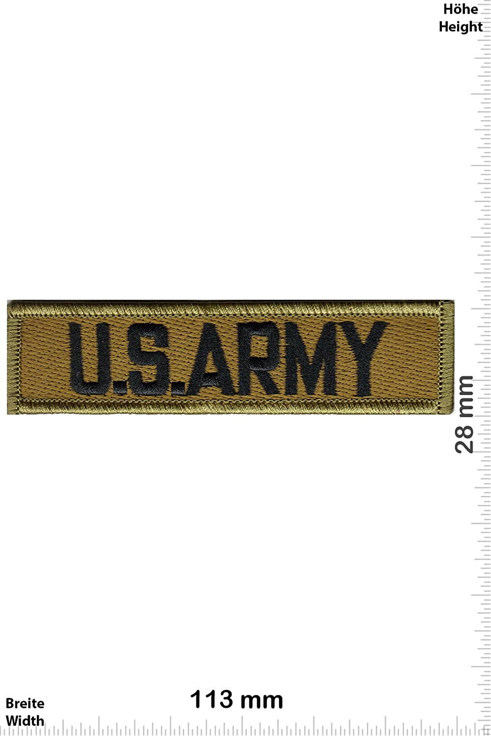 Patch-Iron-U.S. Army - HQ - - Military - U.S. Army - Iron On Patches - Aufnäher Embleme Bügelbild Aufbügler