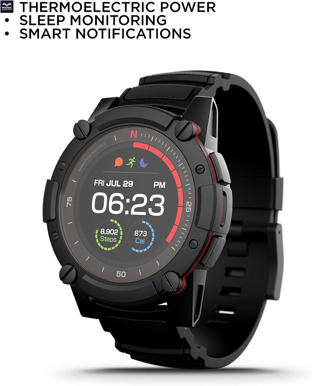 PowerWatch 2, Body Heat Powered Fitness Tracker Smart Watch