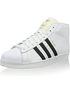 sneakers for cheap 9636c c9c9f adidas Superstar Pro Model Chaussures Montantes pour Homme - Blanc - Blanc,  37 1