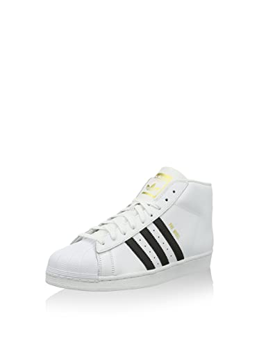sneakers for cheap 0c9ae 8d68c adidas Superstar Pro Model Chaussures Montantes pour Homme - Blanc - Blanc,  37 1