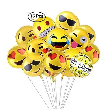 Amazon.com: aesetek 7 Emoji diseños 18