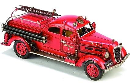 Amazon.com: Berkeley Designs Metal Classic Fire Engine ...