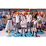 Figuras Bleach the styling set de 6 figuras