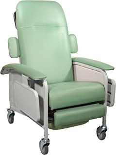 Drive Medical Clinical Care Geri Chair Recliner Jade  sc 1 st  Amazon.com & Amazon.com: Drive Medical 3 Position Geri Chair Recliner Blue ... islam-shia.org