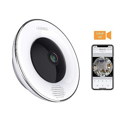 Cámara de vigilancia para el hogar Lensoul 1536P HD IP WiFi Cámara de SeguridadCámara de Vigilancia