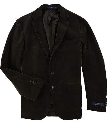ab92874e13b9b8 Ralph Lauren Mens Collins Corduroy Two Button Blazer Jacket Brown 40 at  Amazon Men's Clothing store: