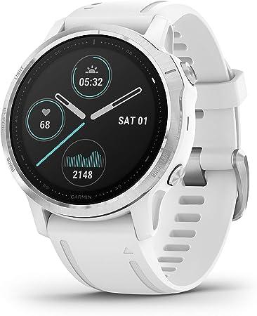 Garmin Fenix 6S, reloj GPS multideporte definitivo, tamaño más ...