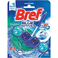 Bref Blue Active Toilet Bowl Cleaner - Eucalyptus,2184937