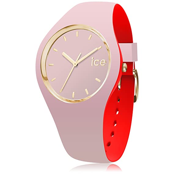 Ice-Watch Reloj Analógico para Mujer de Cuarzo con Correa en Silicona 7244: Amazon.es: Relojes