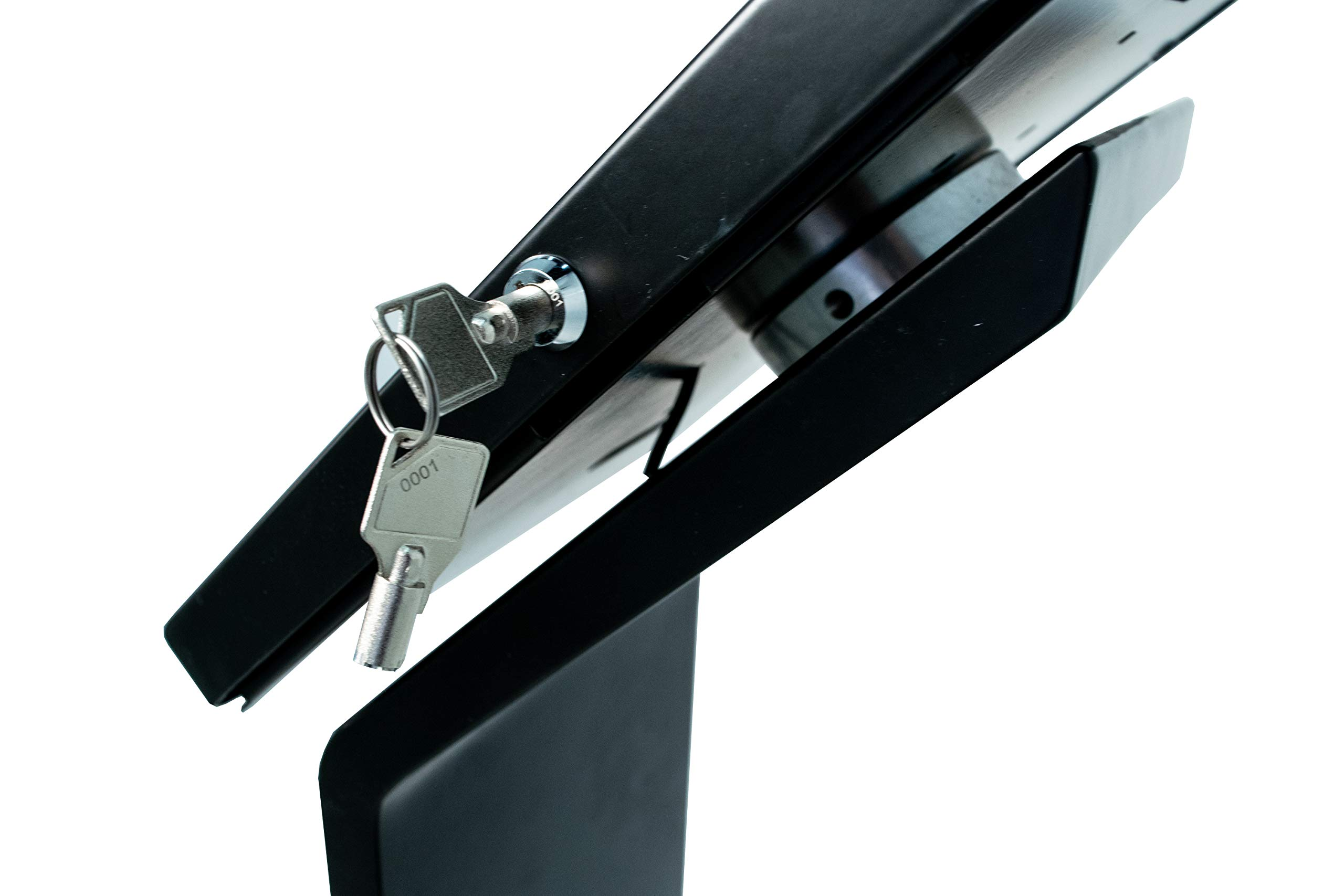 CTA Digital PAD-PARAF Premium Locking Floor Stand Kiosk for 11-inch iPad Pro/Air/Gen. 5-6 / Pro 10.5 / Galaxy Tab A 9.7'' / S2 9.7'' / 3 10.1'' / 4 10.1'' by CTA Digital (Image #4)