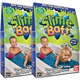 Slime Baff Blue, 2 Pack Bundle, Turn water into gooey slime, Children's Sensory & Bath Toy, Certified Biodegradable Toy